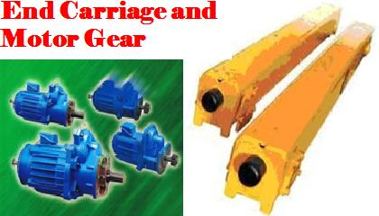 End Carriage and Motor Gear